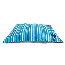 Grreat Choice® Paw & Stripes Pillow Pet Bed