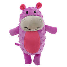 Grreat Choice® Safari Hippo Dog Toy - Plush, Squeaker