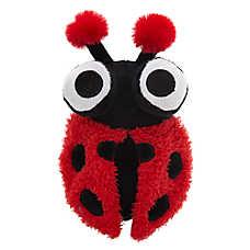 Top Paw® Ladybug Ball Dog Toy - Plush, Squeaker