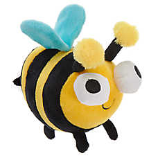 Top Paw® Bumble Bee Dog Toy - Plush, Squeaker