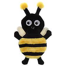 Top Paw® Bumble Bee Flattie Dog Toy - Crinkle