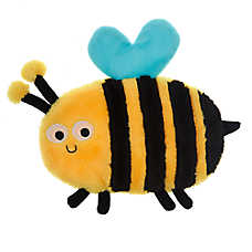 Top Paw® Bumble Bee Flattie Dog Toy - Crinkle