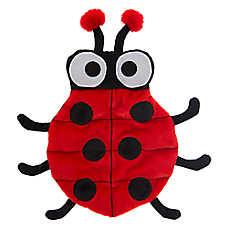 Top Paw® Ladybug Squeaker Mat Dog Toy - Plush, Squeaker