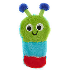 Top Pa® Caterpillar Flattie Dog Toy - Crinkle