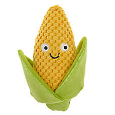 Top Paw® Corn Dog Toy - Plush, Squeaker