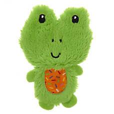Top Paw® Frog Flattie Dog Toy - Crinkle