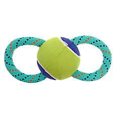 Top Paw® Tennis Ball Tug Dog Toy