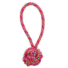 Top Paw® Rope Tug with Rope Ball Dog Toy