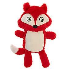 Grreat Choice® Spring Fox Dog Toy - Plush, Squeaker
