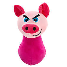 Grreat Choice® Wobbles Squeaker Ball Pig Dog Toy