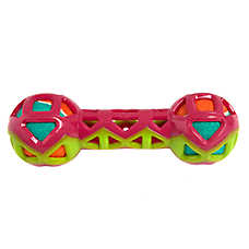 Top Paw® Dumbbell with Tennis Balls Dog Toy