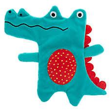 Top Paw® Gator Flattie Toy - Crinkle, Squeaker