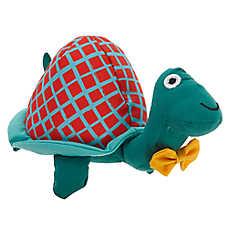 Top Paw® Turtle Dog Toy - Plush, Squeaker