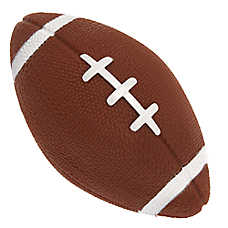 Top Paw® Football Dog Toy - Squeaker