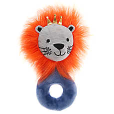 Top Paw® Puppy Lion Rattle Dog Toy - Plush, Squeaker