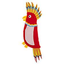 Top Paw® Parakeet Flattie Dog Toy - Crinkle, Squeaker