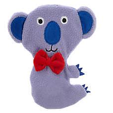 Top Paw® Koala Flattie Dog Toy - Crinkle, Squeaker
