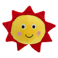 Top Paw® Sun Ball Dog Toy - Plush, Squeaker