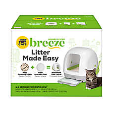 Purina® TIDY CATS® BREEZE® Hooded Litter Box System