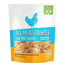 Only Natural Pet All Meat Crispies Dog Treat - Natural, Grain Free, Chicken