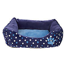 Grreat Choice® Paw & Dots Cuddler Pet Bed