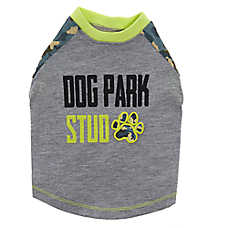 Top Paw® Dog Park Stud Pet Tee
