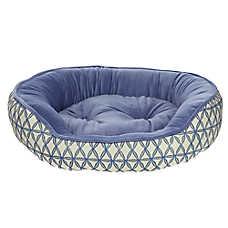 Top Paw® Printed Cuddler Pet Bed