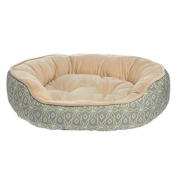 Top Paw 174 Printed Cuddler Pet Bed Dog Cuddler Beds Petsmart