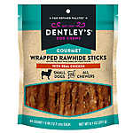 Dentley's® Gourmet Wrapped Rawhide Sticks Dog Treats - Chicken
