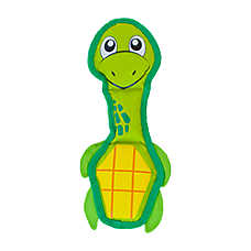 Outward Hound® Invincibles Fire Biterz Turtle Dog Toy - Squeaker
