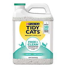 Purina® TIDY CATS® Free & Clean Unscented Litter - Clumping, Multi Cat