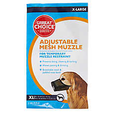 Grreat Choice® Adjustable Mesh Dog Muzzle