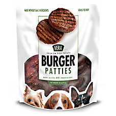 Vera Premium Burger Patties Dog Treat - Beef