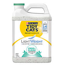 Purina® TIDY CATS® Free & Clean Unscented Lightweight Litter - Clumping, Multi Cat