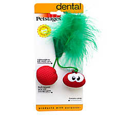 Petstages® Dental Cherry Teether Cat Toy