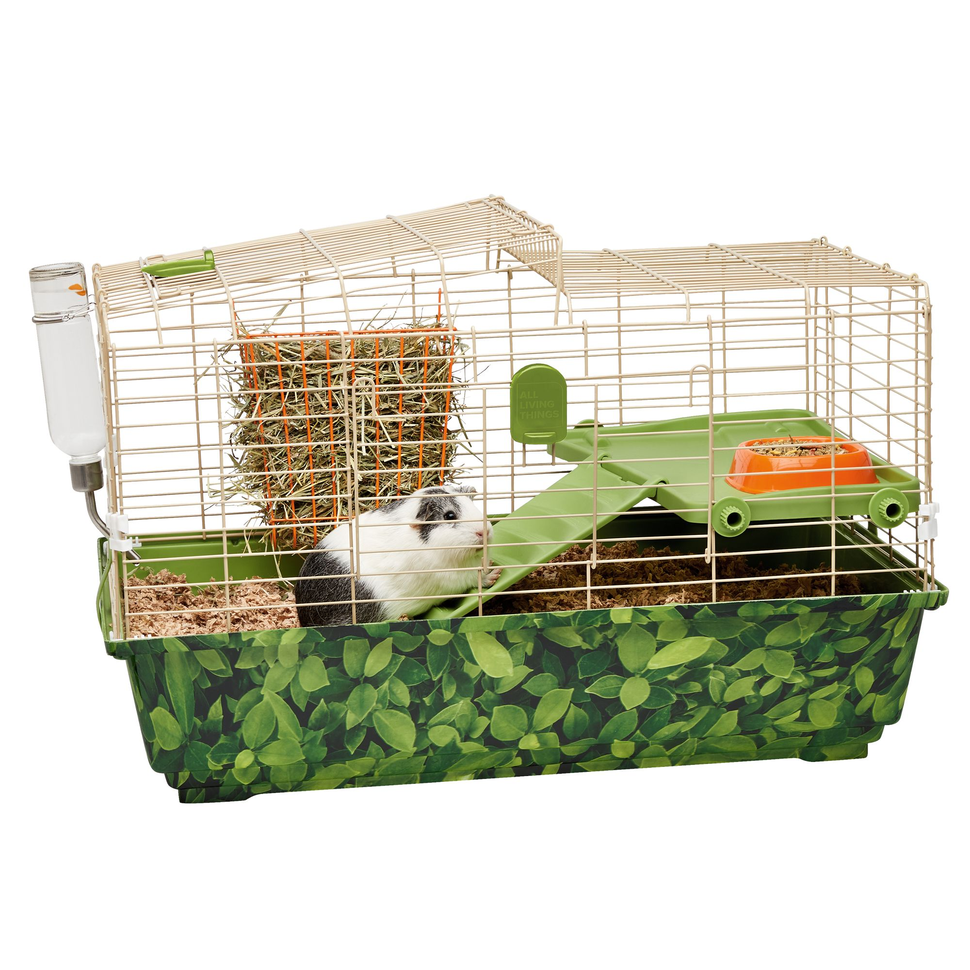 Picture of: All Living Things Guinea Pig Treehouse Trade Small Pet Habitat Small Pet Cages Petsmart