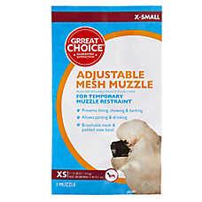 Grreat Choice® Adjustable Mesh Dog Muzzle