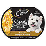Cesar® Simply Crafted™ Dog Food Topper - Chicken, Pumpkin & Parsley