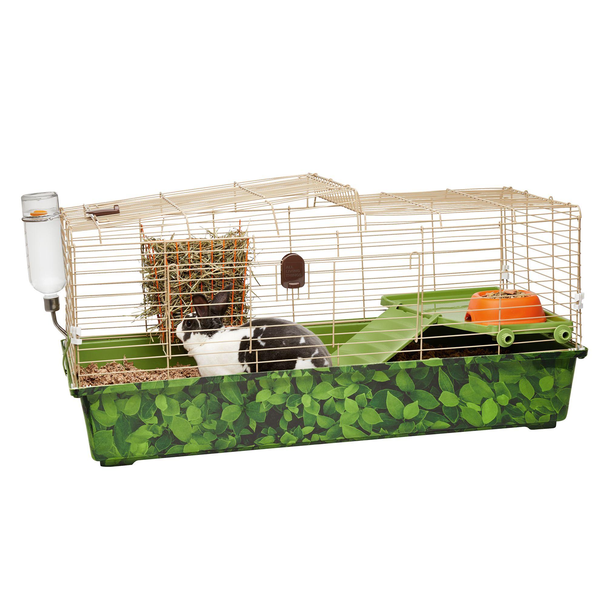 All Living Things Rabbit Comfy Getaway Trade Small Pet Habitat Small Pet Cages Petsmart