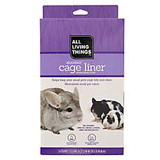 All Living Things® Absorbent Small Pet Cage Liner
