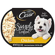 Cesar® Simply Crafted™ Dog Food Topper - Chicken