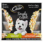 Cesar® Simply Crafted Dog Food Topper - 8 ct, Variety Pack
