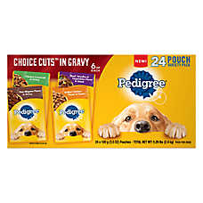 Pedigree® Choice Cuts in Gravy Dog Food - Variety Pack, 24ct