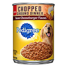 PEDIGREE® Chopped Ground Dinner Adult Dog Food