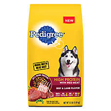 PEDIGREE® High Protein Adult Dog Food - Beef & Lamb