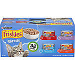 Purina® Friskies® Shreds Variety Pack, 32ct