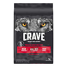 Crave Adult Dog Food - Grain Free, Beef