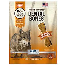 Nylabone® Primal Instinct® Chicken Dental Bones - Dog Treat, Large