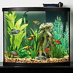 Top Fin® Allure Bow Front Aquarium Starter Kit