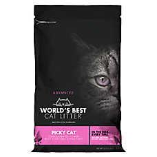 Worlds Best Cat Litter ™ Advanced Picky Cat Litter - Clumping
